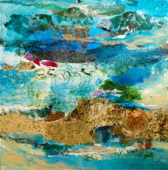 Jill Segal	Ocean Texture	20x20	mixed media	 $595.00