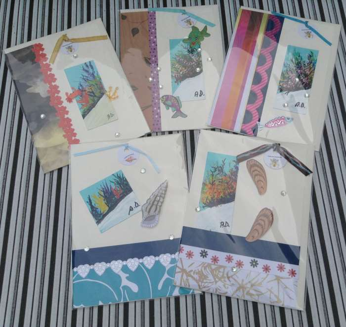 Hand Made Cards 	 $14.00
