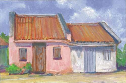 Middle Caicos House - 11x8  $85