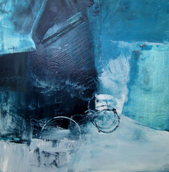Jill Segal	Ocean Energy 2	16x16	oil paint and cold wax $395.00